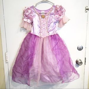 Disney Princess Tangled Rapunzel Costume Dress